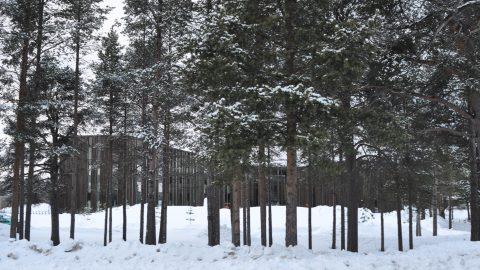 Sajos: Centro Cultural y Político Sami. Inari, Finlandia.