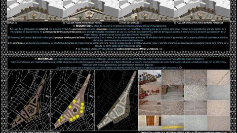 #Panel # Finalista #Bekirent's #Roots en el #Concurso de #Ideas de #Remodelación de la #Plaza del #Ayuntamiento de #Bocairent