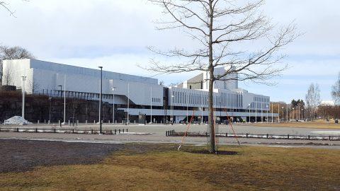 Finlandia Talo Hall, Helsinki, Finlandia.