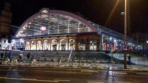Lime Street Railway Station, Liverpool, United Kingdom
