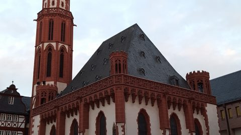 Old St Nicholas Church, Frankfurt, Germany