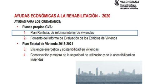 Vídeo y Ponencia: Ayudas 2020 a la Rehabilitación, Conservación, Accesibilidad y Eficiencia Energética.